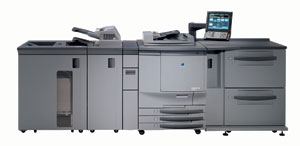 Color copy printer at our printing company near Boone, IA